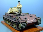 VK4502PH, Porsche Tiger II prototype, 1:35